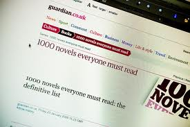 18e6f71b2e12b 1000 novels that everyone must read (according to the guardian) – A ...