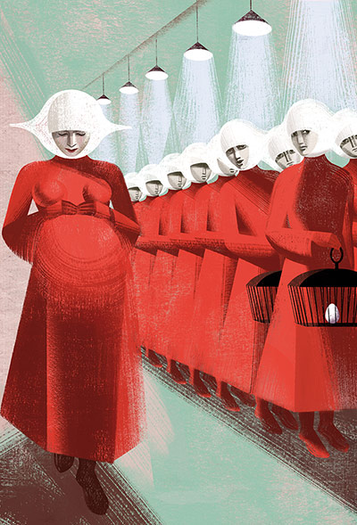 the handmaids tale The handmaid's tale is an american web television series created by bruce miller, based on the 1985 novel of the same name by margaret atwood.